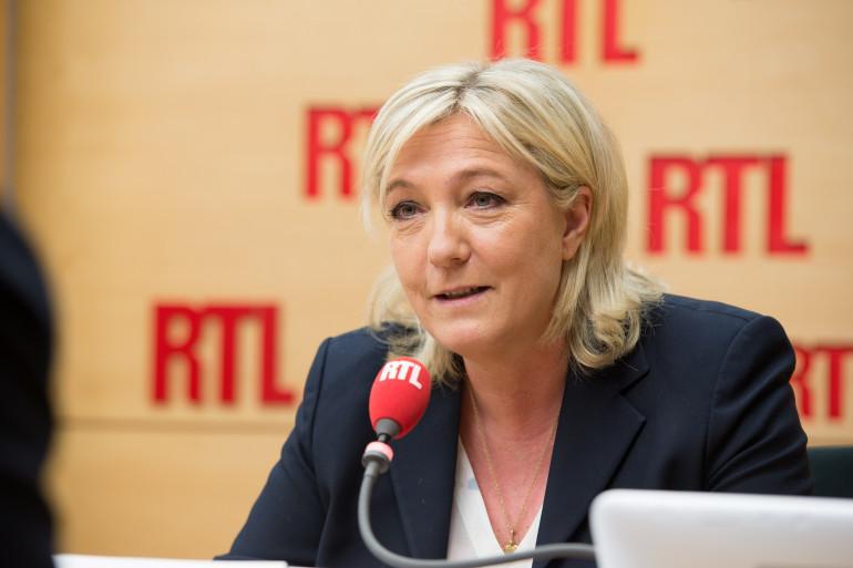 Marine Le Pen, invitée de RTL, le 26 janvier 2015