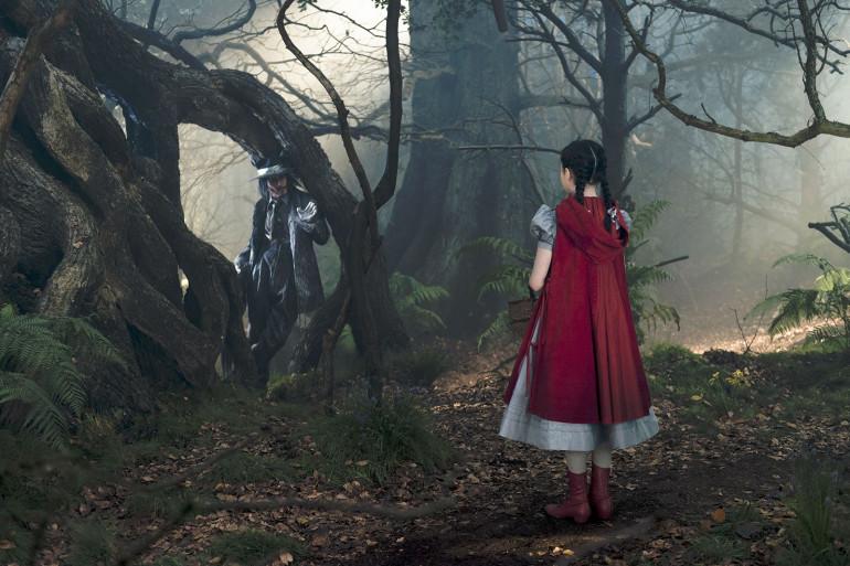 Into the woods réunit notamment le Petit chaperon rouge et Cendrillon.