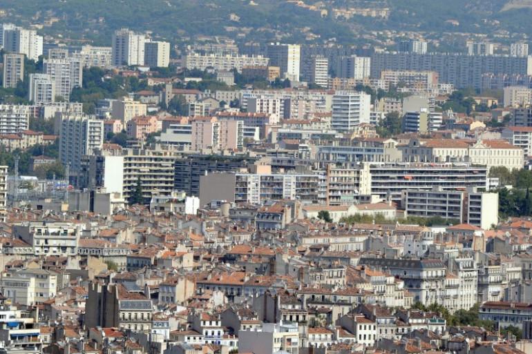 Une vue des quartiers nord de Marseille