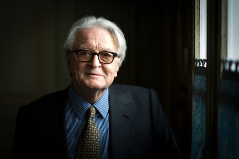 Roland Dumas en avril 2011 à Paris.