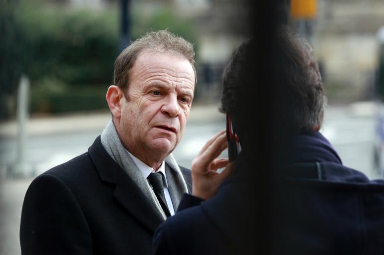 François-Marie Banier le 27 janvier 2015 à Bordeaux