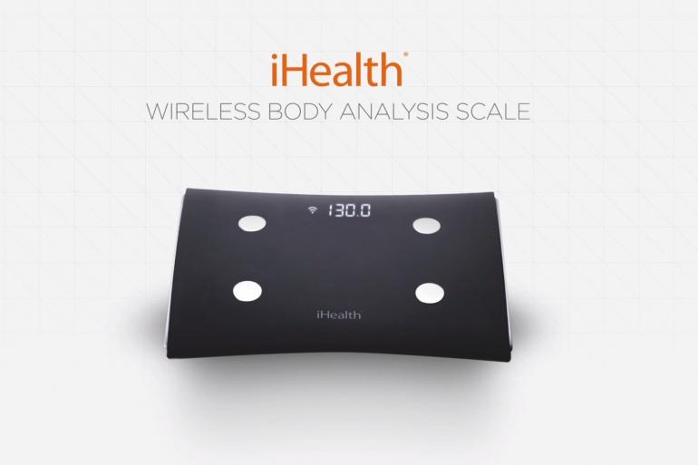 La balance intelligente HS5 de iHealth permet d'enregistrer jusqu'à 20 profils différents