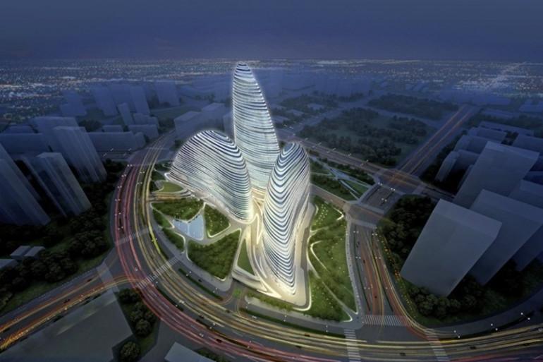 Dans ce bâtiment de Pékin, l'économie d'énergie est le maître-mot