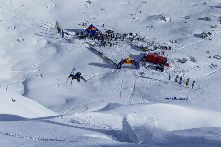 Tanner Rainville au Red Bull Linecatcher