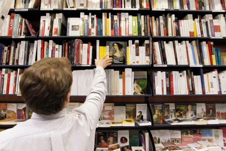 Une librairie (photo d'illustration).