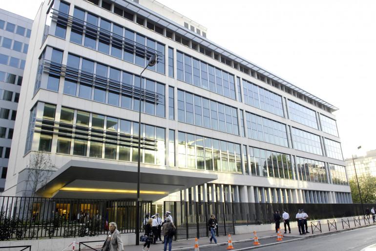 Vue des nouveaux locaux des services de renseignement français