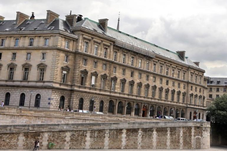Le Quai des Orfèvres à Paris.