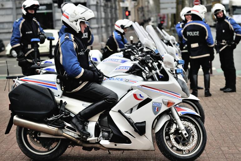 Des policiers stationnés dans les rues de Lille (archives)