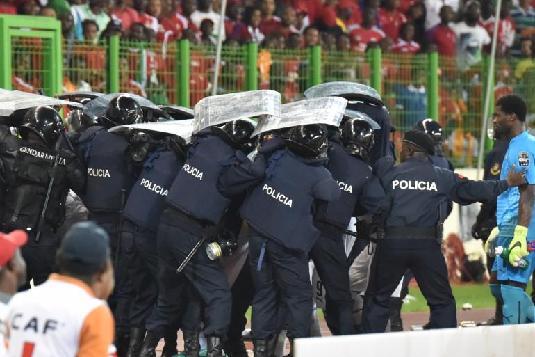 Le match Ghana-Guinée Équatoriale a été interrompu à la suite d'incidents