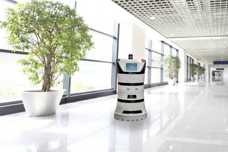 Le robot d'intérieur Diya One de Partering Robotics