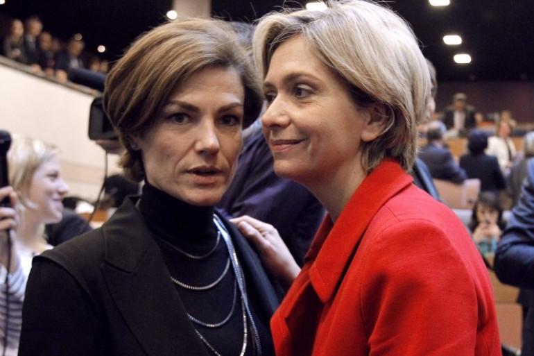 Chantal Jouanno (UDI) et Valérie Pécresse (UMP) seront candidates pour les régionales franciliennes, probablement face à Jean-Paul Huchon (PS)