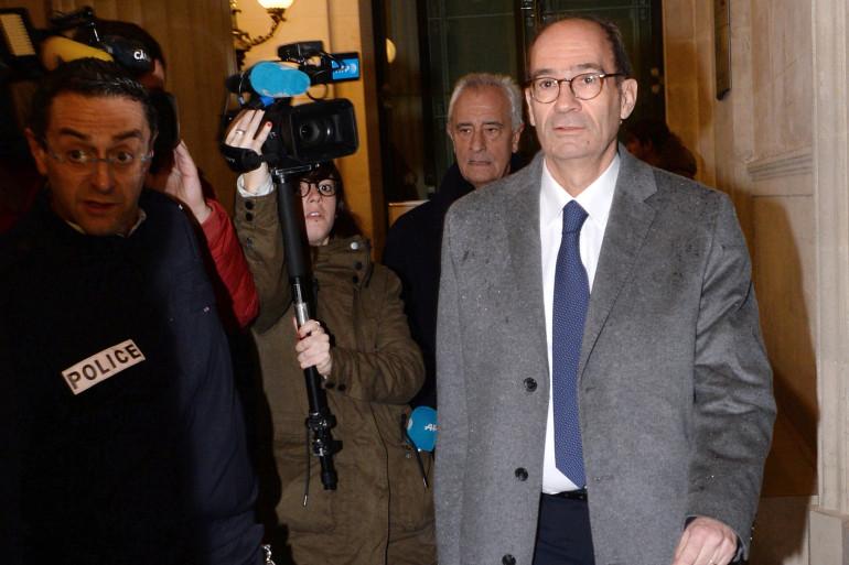 Eric Woerth à son arrivée au tribunal correctionnel de Bordeaux pour le procès Bettencourt le 29 janvier 2015 (archive).