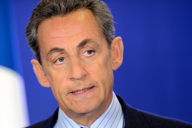 Nicolas Sarkozy à Paris le 7 janvier 2015