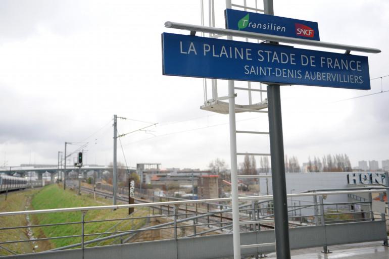 Un homme est mort électrocuté le 12 février à la gare Stade de France Saint-Denis après avoir sauté sur le toit d'un train pour changer de quai (Illustration)