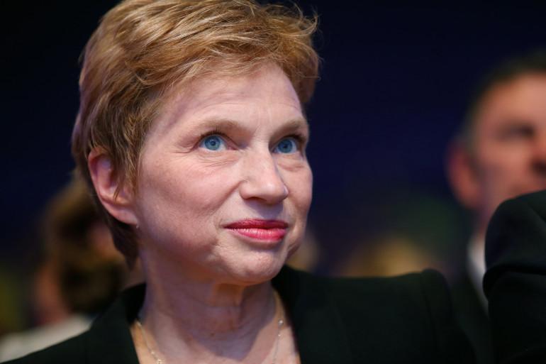 L'ancienne présidente du Medef Laurence Parisot le 24 mai 2014 (archives).
