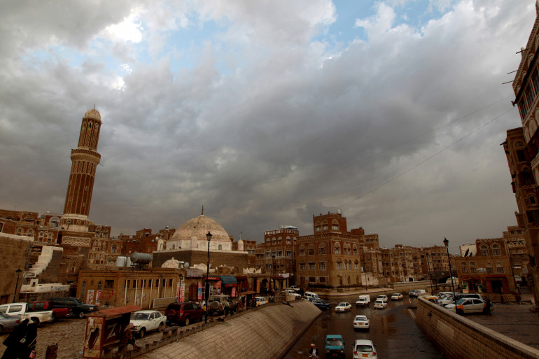 Une photo de la vieille ville de Sanaa, capitale du Yémen, le 13 avril 2013
