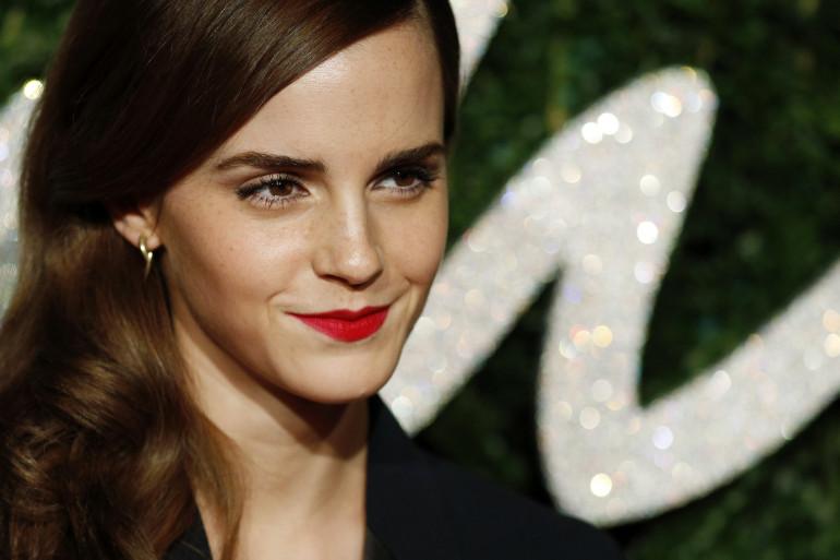 Emma Watson aux British Fashion Awards en décembre 2014