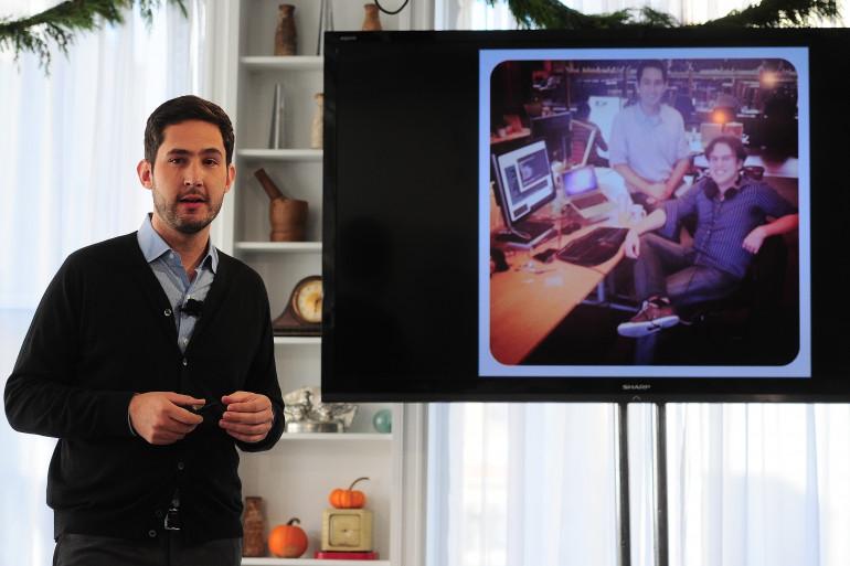 Kevin Systrom, le fondateur d'Instagram, présente Direct, la nouvelle messagerie de l'application
