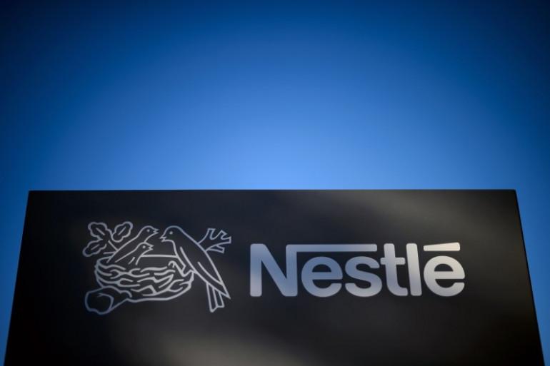 L'enseigne Nestlé (illustration)