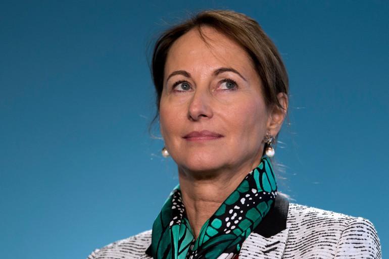 Ségolène Royal lors d'une conférence de presse, le 4 février 2015, à Paris (archives).