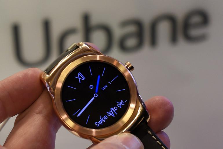 La LG Watch Urbane LTE s'est exposée à Barcelone le 1er mars 2015