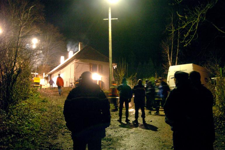 Les deux corps ont été retrouvés par les pompiers (illustration).