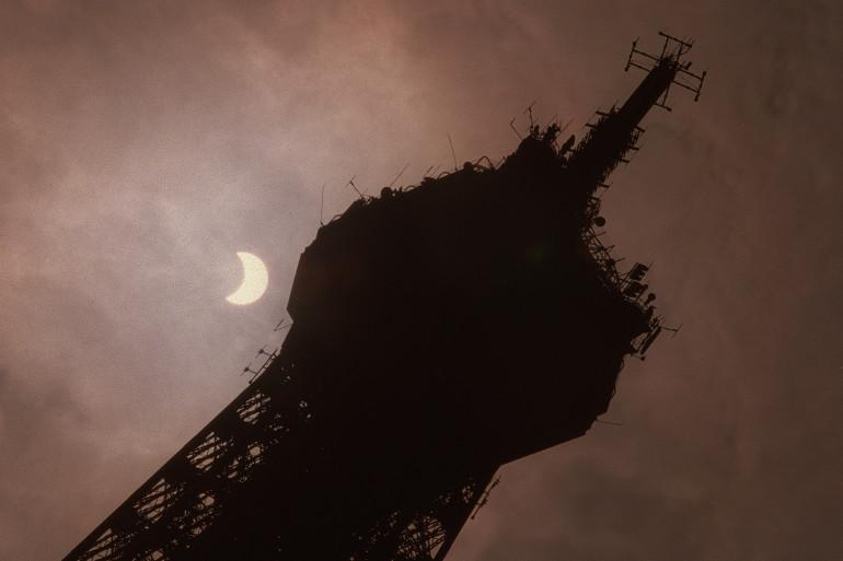 L'éclipse totale du 11 août 1999, visible à Paris (archives)