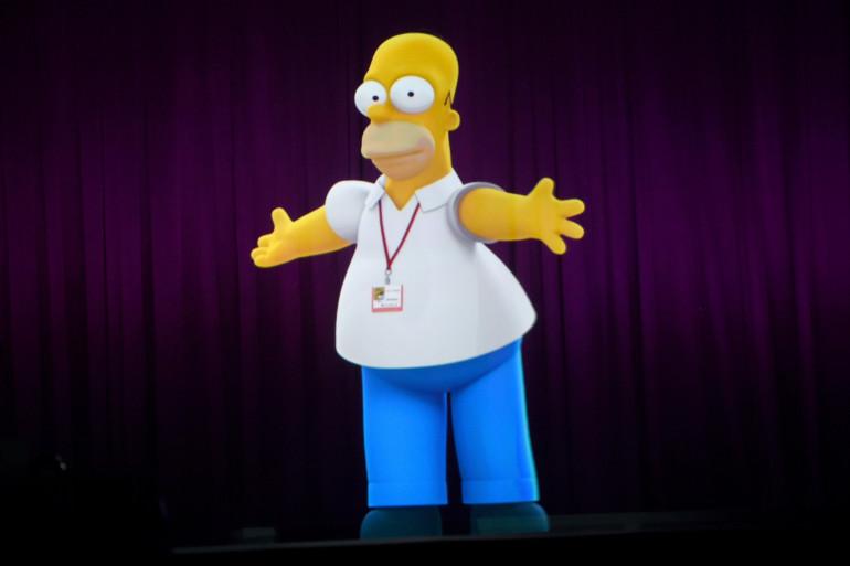 Homer Simpson, à deux doigts du prix Nobel de physique en 1998