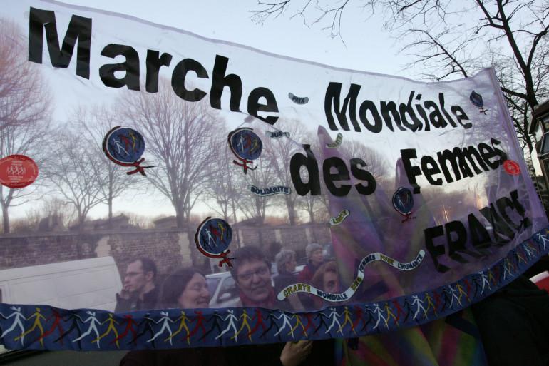 """De nombreuses marches sont organisées le 8 mars dans le cadre de la """"Journée des femmes"""""""