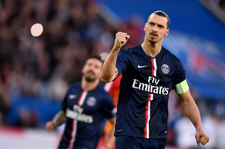 Zlatan a marqué le 2e but du PSG sur penalty