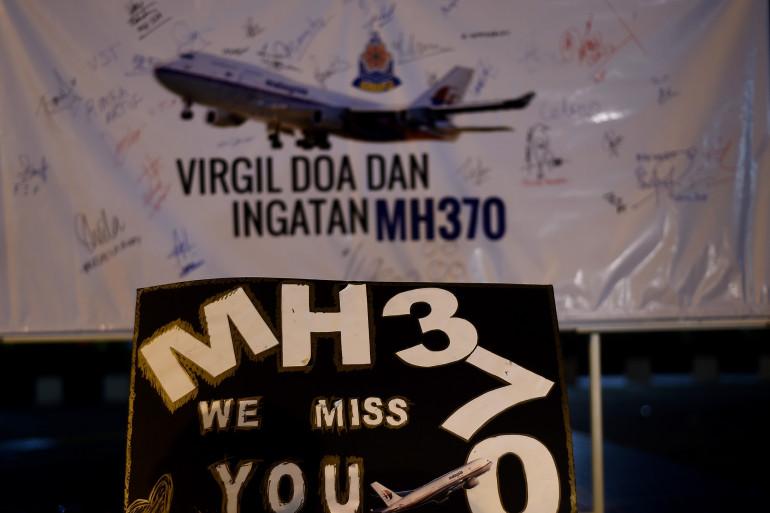 Un mémorial pour marquer les un an de la disparition du vol MH370 de la Malaysia Airlines