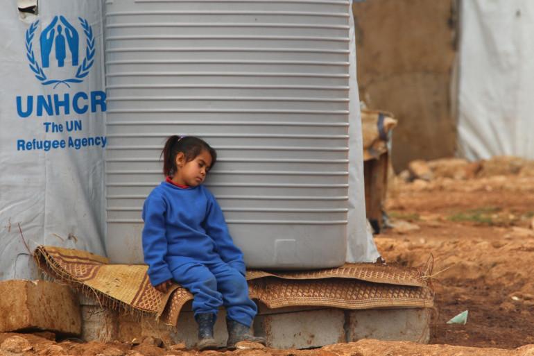 Une enfant syrienne dans un camp de réfugiés au Liban, le 24 février 2015 (archives).