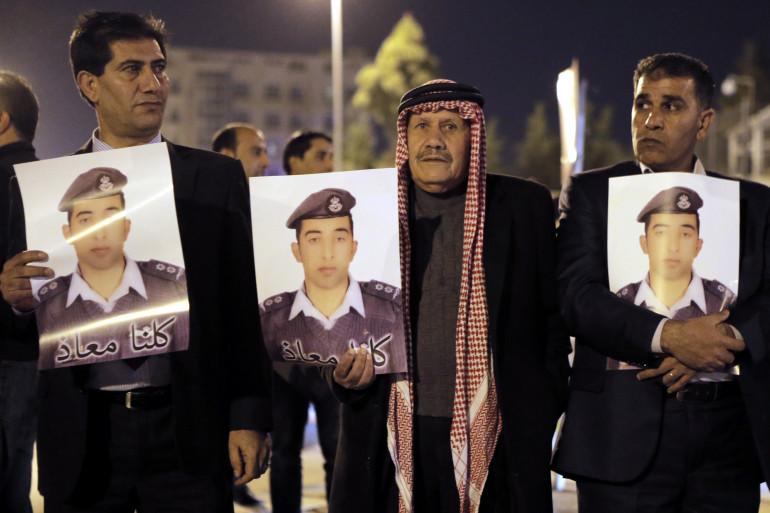 Les proches du pilote assassiné par Daech (archives).