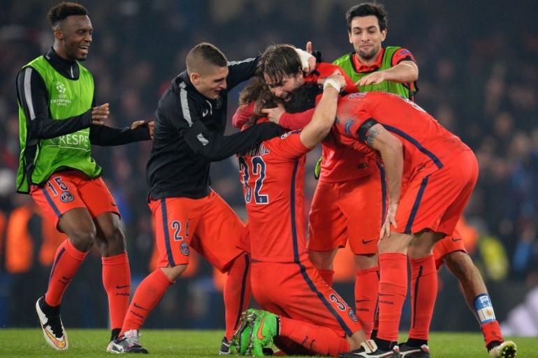 Le Paris Saint-Germain se qualifie contre Chelsea, le 11 mars 2015