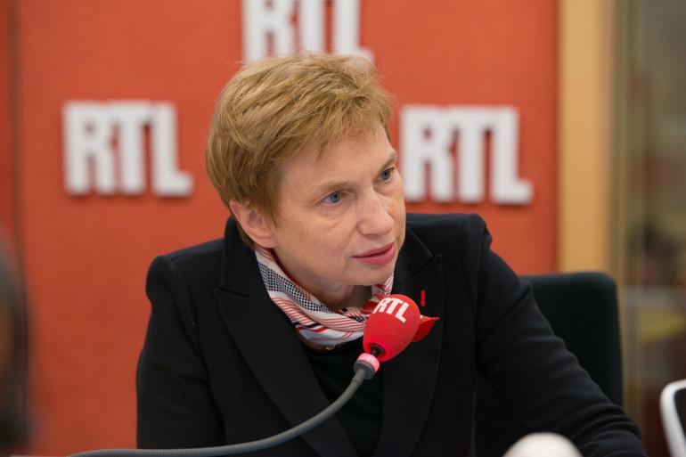 Laurence Parisot, invitée de RTL, le 12 mars 2015