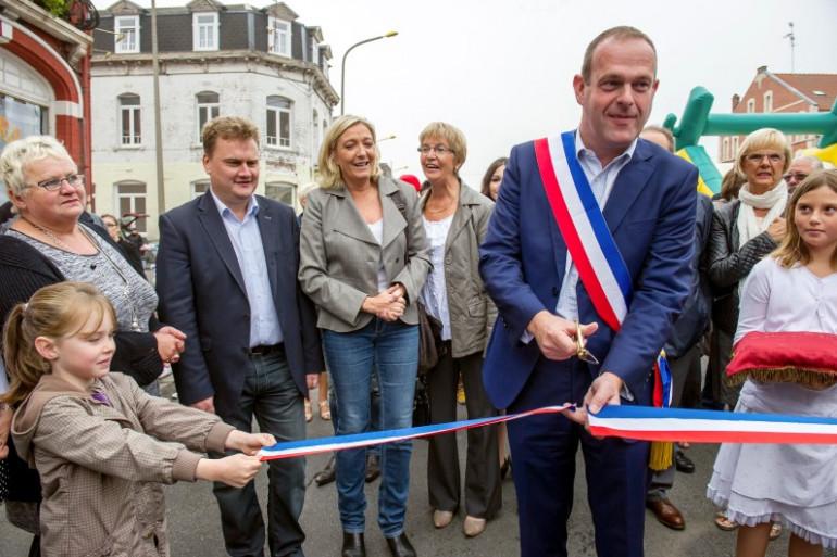Le maire FN d'Hénin-Beaumont, Steve Briois, en septembre 2014.
