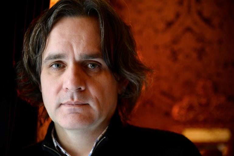 """Le nouveau patron de """"Charlie Hebdo"""", Laurent Sourisseau dit Riss, à Paris, le 24 février 2015 (archives)."""