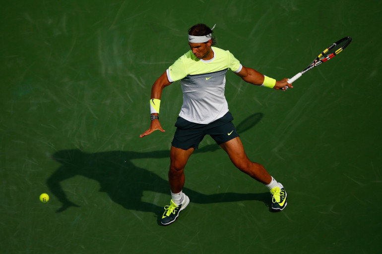 Rafael Nadal à Indian Wells le 17 mars 2015