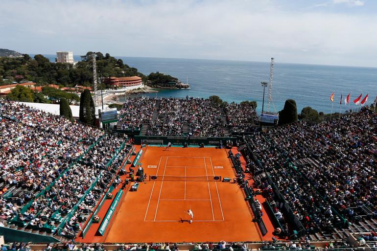 Le court central du Masters 1000 de Monte-Carlo