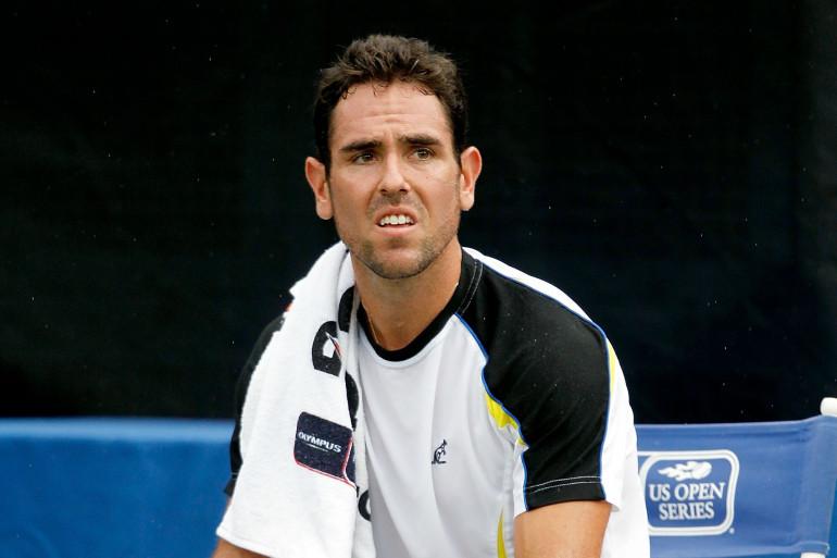 Le tennisman américain Wayne Odesnik a été condamné à 15 ans de suspension après avoir été contrôlé positif à un dispositif anti-dopage (le 31 août 2011/archives)
