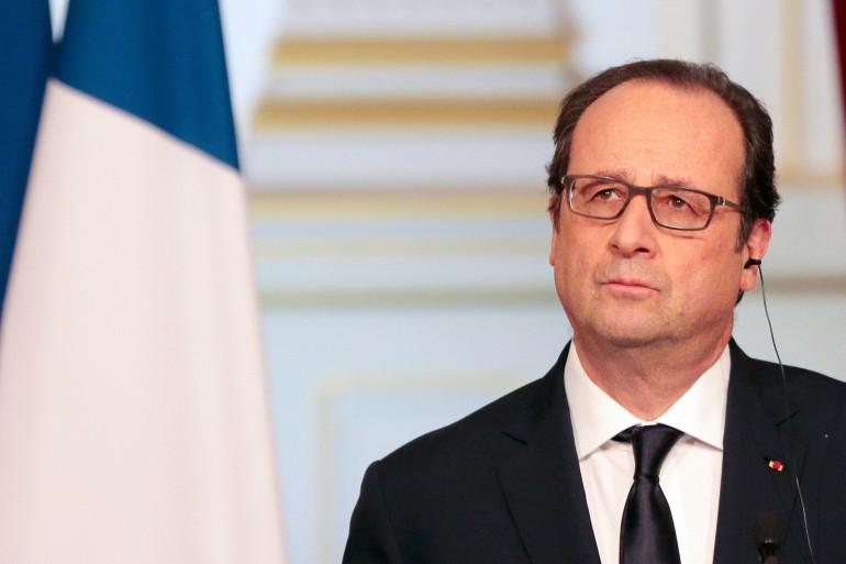 Le président français François Hollande le 17 mars 2015.