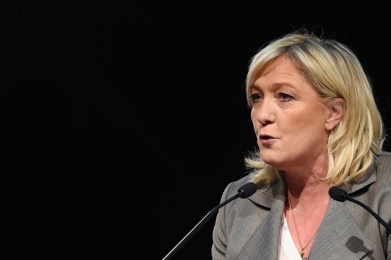 Marine Le Pen le 16 mars 2015 (archives).