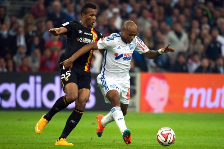 Marseille-Lens, le 2 novembre 2014 au stade Vélodrome