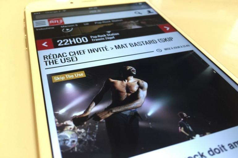 """Le nouveau RTL2.fr est """"responsive design"""", il s'adapte aux mobiles et tablettes"""