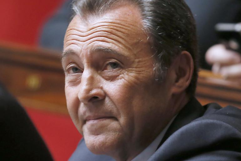 Le député UMP des Alpes-Maritimes Lionnel Lucas à l'Assemblée, le 9 avril 2014 (archives).