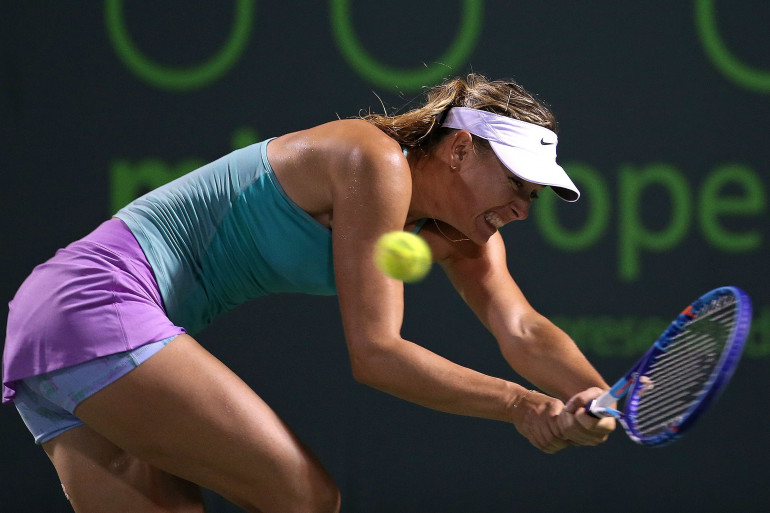 Maria Sharapova le 27 mars 2015 à Miami