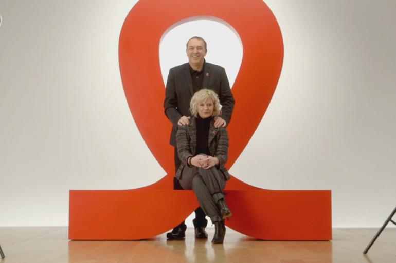 Flavie Flament et Jean-Marc Morandini mobilisés pour la campagne 2015 du Sidaction