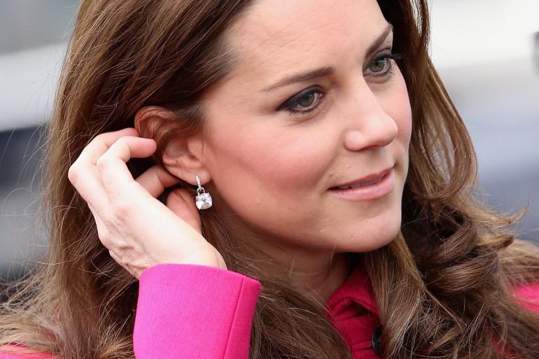 La Duchesse de Cambridge, Kate Middleton, le 27 mars 2015, à Londres.