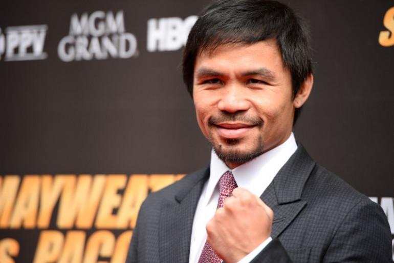 Manny Pacquiao, le 11 mars 2015 à Los Angeles