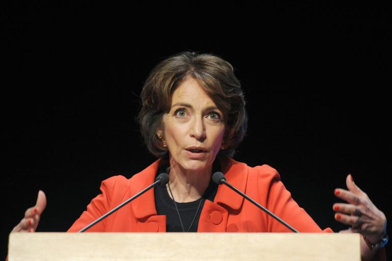Marisol Touraine lors du congrès de la Fédération Francaise des Maisons et Pôles de Santé, le 20 mars 2015, à La Rochelle.